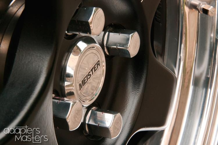 13. VAZ2112onSSRwheels (12). Adapters Masters. Проставки и адаптеры