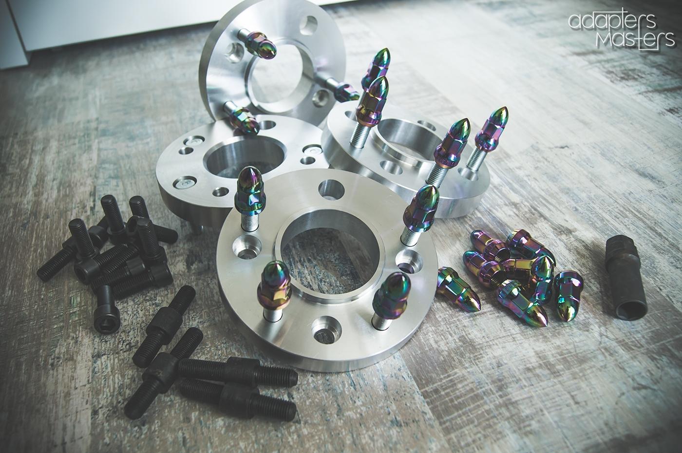 21. Work example (4). Adapters Masters. Колесные проставки и адаптеры